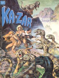 Marvel Graphic Novel 62 - Ka-Zar - Guns of the Savage Land 1990
