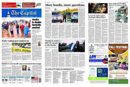 The Capital – October 26, 2018