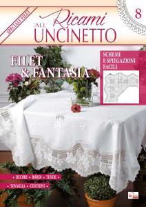 Ricami all'Uncinetto N.8 - Marzo 2017