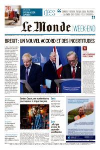 Le Monde du Samedi 19 Octobre 2019