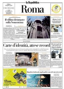 la Repubblica Roma - 11 Luglio 2020