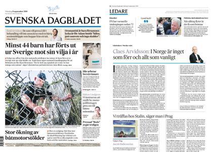 Svenska Dagbladet – 09 september 2019