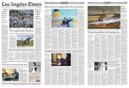 Los Angeles Times – August 23, 2021