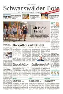 Schwarzwälder Bote Oberndorf - 26. Juli 2019