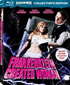 Frankenstein Created Woman (1967) + Extras