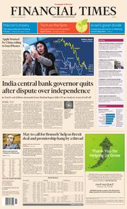 Financial Times Europe – 11 December 2018
