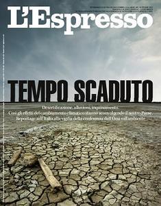 l'Espresso N.44 - 24 Ottobre 2021