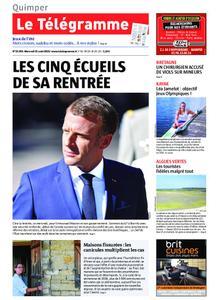 Le Télégramme Quimper – 21 août 2019