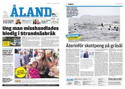 Ålandstidningen – 11 augusti 2018
