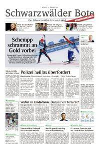 Schwarzwälder Bote Hechingen - 19. Februar 2018