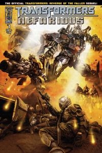 IDW-Transformers Nefarious No 01 2010 Hybrid Comic eBook