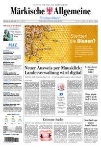 Märkische Allgemeine Westhavelländer - 25. April 2018