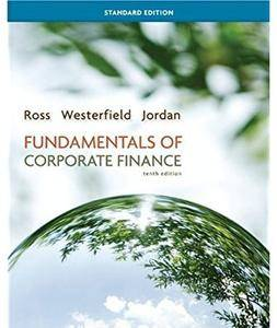 Fundamentals of Corporate Finance (10th edition) [Repost]