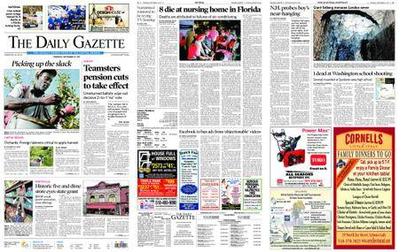 The Daily Gazette – September 14, 2017