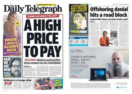 The Daily Telegraph (Sydney) – July 30, 2018