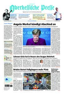 Oberhessische Presse Hinterland - 30. Oktober 2018