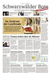 Schwarzwälder Bote Hechingen - 11. Oktober 2017