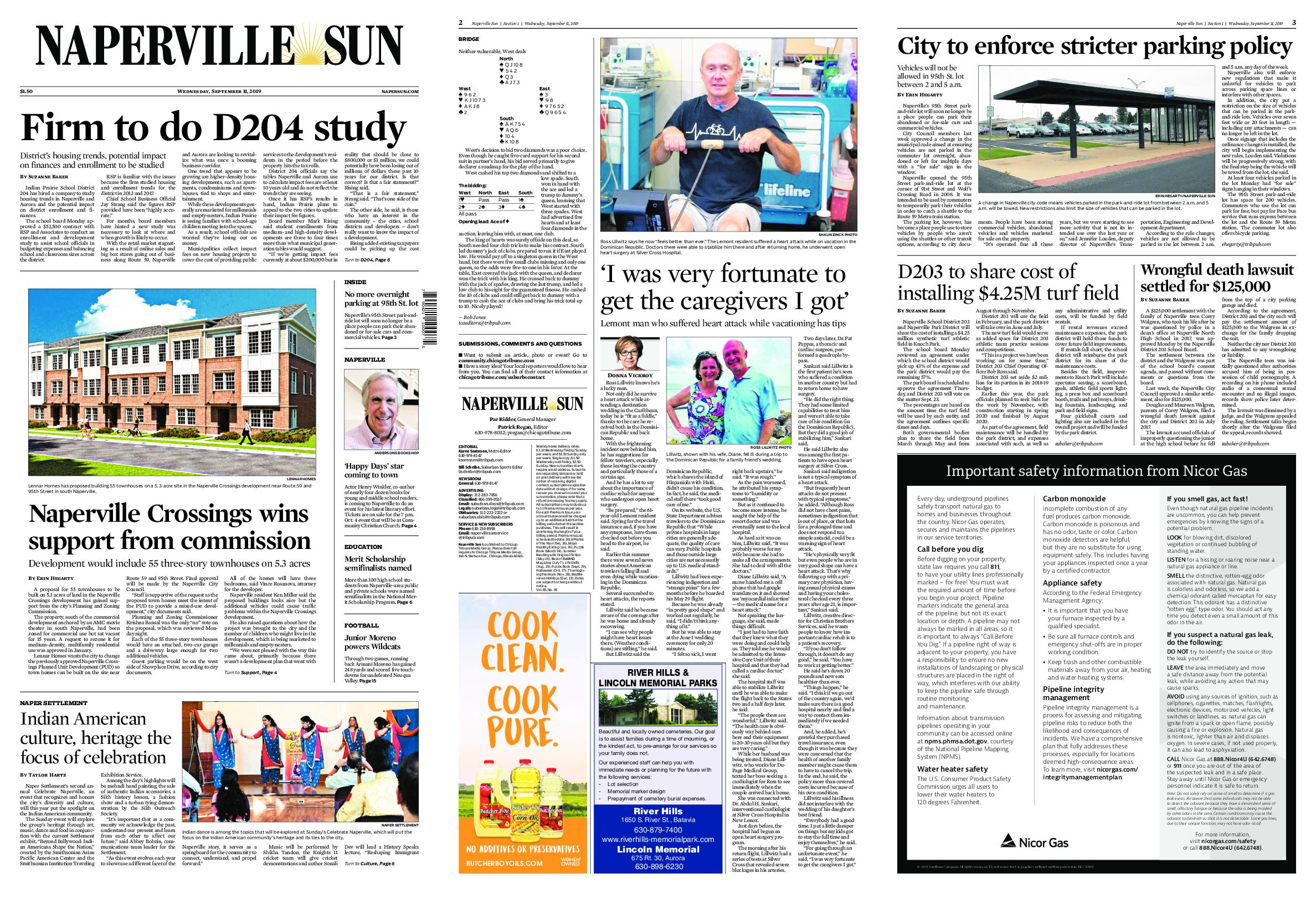Naperville Sun – September 11, 2019