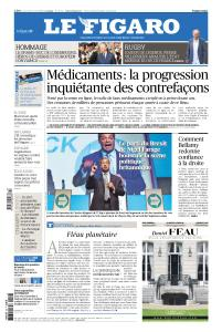 Le Figaro du Mercredi 24 Avril 2019