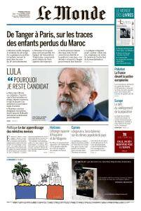 Le Monde du Vendredi 18 Mai 2018