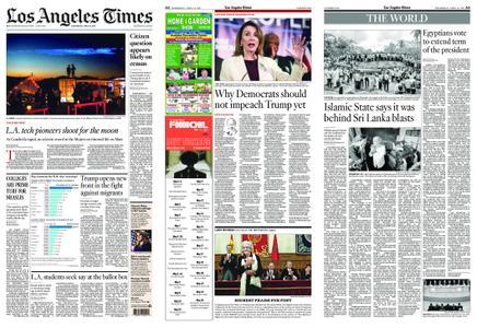Los Angeles Times – April 24, 2019