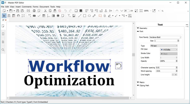 Master PDF Editor 5.4.04 Multilingual