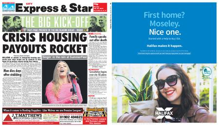 Express and Star City Edition – July 29, 2019