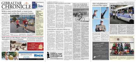 Gibraltar Chronicle – 09 December 2019