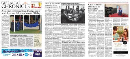 Gibraltar Chronicle – 01 February 2020