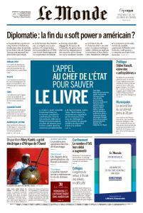 Le Monde du Dimanche 24 et Lundi 25 Mai 2020