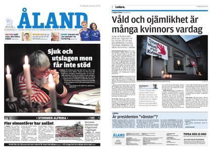 Ålandstidningen – 08 januari 2019