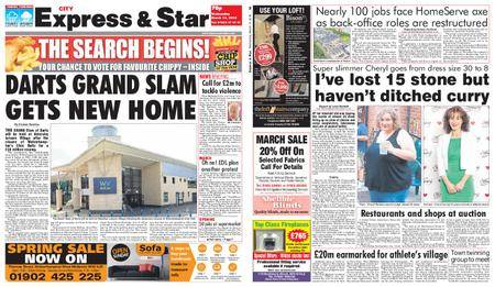 Express and Star City Edition – March 14, 2018