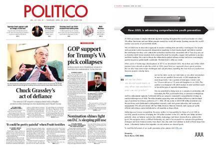 Politico – April 26, 2018