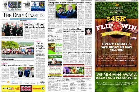 The Daily Gazette – May 18, 2018