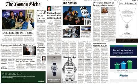 The Boston Globe – April 05, 2018