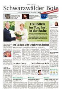 Schwarzwälder Bote Oberndorf - 19. Mai 2018