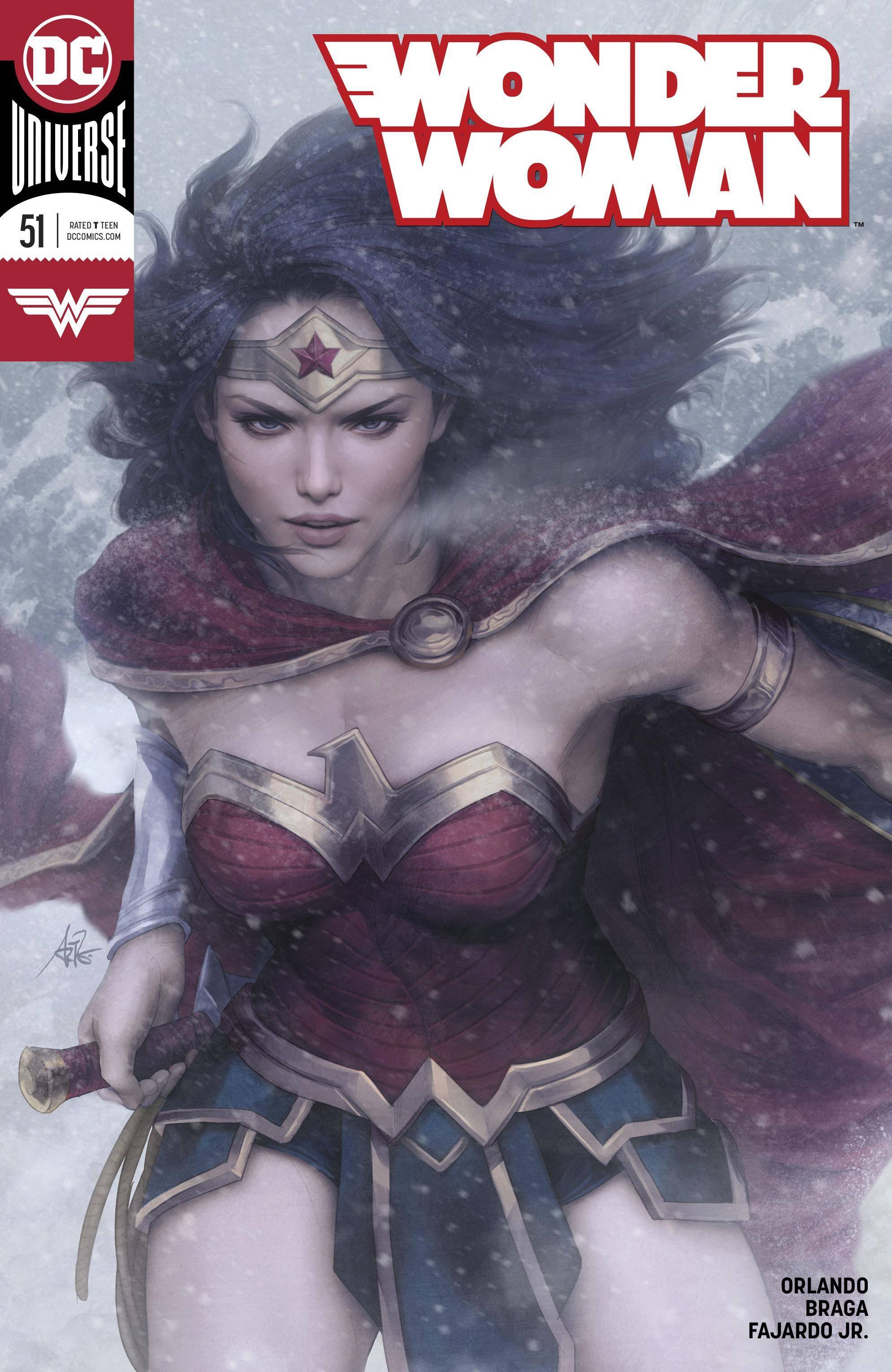Wonder Woman 051 2018 2 covers digital Minutemen