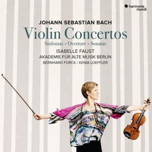 Isabelle Faust - J.S. Bach: Violin Concertos (2019) [Official Digital Download 24/96]