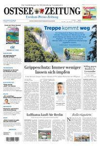 Ostsee Zeitung Wolgast - 13. Oktober 2017