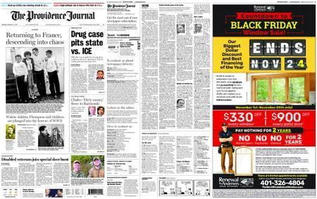 The Providence Journal – November 13, 2017