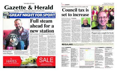 Gazette & Herald – February 01, 2018