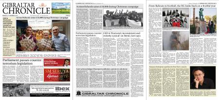 Gibraltar Chronicle – 17 December 2018