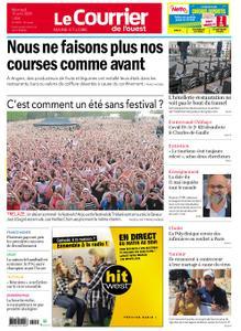 Le Courrier de l'Ouest Cholet – 15 avril 2020