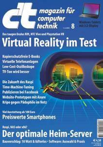 ct Magazin für Computertechnik No 08 vom 01. April 2016