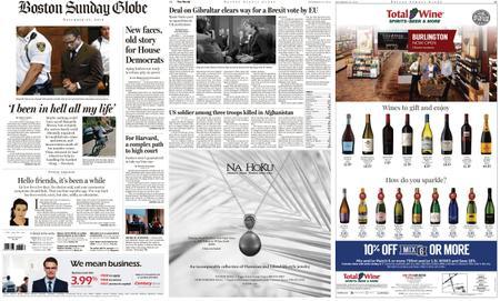 The Boston Globe – November 25, 2018