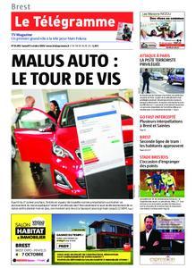 Le Télégramme Brest – 05 octobre 2019