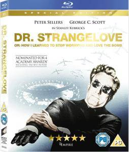 Dr. Strangelove or: How I Learned to Stop Worrying and Love the Bomb (1964) + Extras