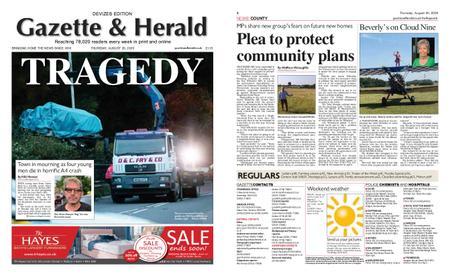 Gazette & Herald – August 20, 2020