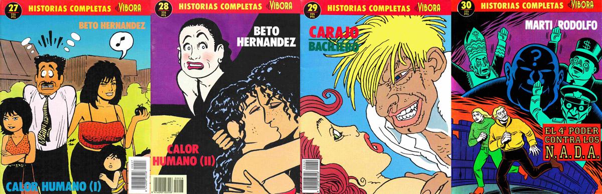 Historias Completas El Vibora Vol.27 - Vol.30