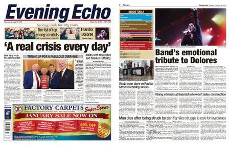 Evening Echo – January 16, 2018